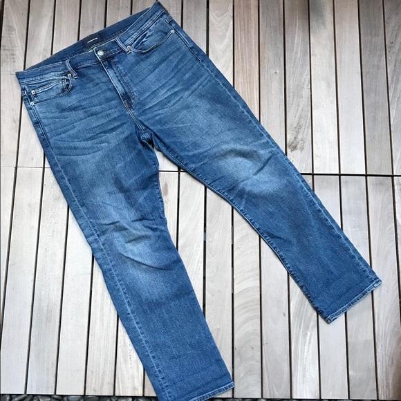 J CREW JEANS Blue Denim Straight 5 Pocket Jeans